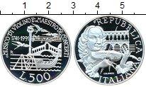 Изображение Монеты Италия 500 лир 1991 Серебро Proof