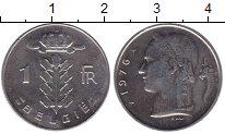Изображение Мелочь Бельгия 1 франк 1972 Медно-никель VF Легенда на французск