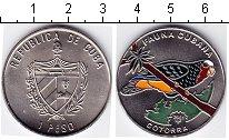 Изображение Мелочь Куба 1 песо 2001 Медно-никель UNC-