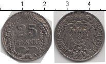 Изображение Монеты Германия 25 пфеннигов 1910 Медно-никель