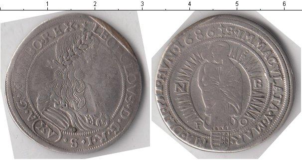Картинка Монеты Венгрия 15 крейцеров Серебро 1686