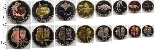 Изображение Наборы монет Нидерланды Остров Святого Евстафия Остров Святого Евстафия 2011 2011  UNC-