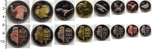 Изображение Наборы монет Саба Саба 2011 2011  UNC- В наборе 8 монет ном