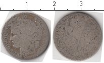 Изображение Монеты Франция 50 сантим 0 Серебро  Третья французская р