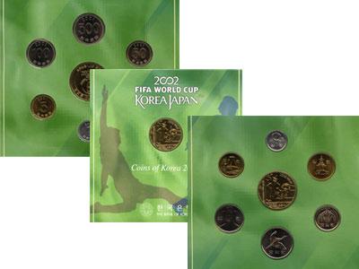 Изображение Подарочные наборы Южная Корея Чемпионат мира по футболу 2002 2001  UNC `Подарочный набор по