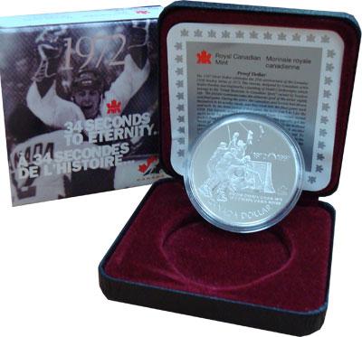 Изображение Подарочные монеты Канада 1 доллар 1997 Серебро Proof `Подарочный набор по