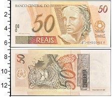 """Изображение Боны Бразилия 50 реалов 2002   <font face=""""arial, s"""