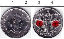 """Изображение Мелочь Канада 25 центов 2010 Медно-никель UNC <span style=""""font-s"""