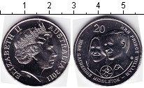 Изображение Мелочь Австралия 20 центов 2011 Медно-никель UNC- Принц Вильям и Кейт