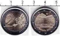 Изображение Мелочь Испания 2 евро 2011 Биметалл AUNC