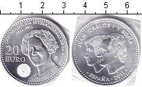 Изображение Мелочь Испания 20 евро 2011 Серебро AUNC