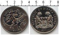 Изображение Мелочь Сьерра-Леоне 1 доллар 2011 Медно-никель UNC- Гиббоны
