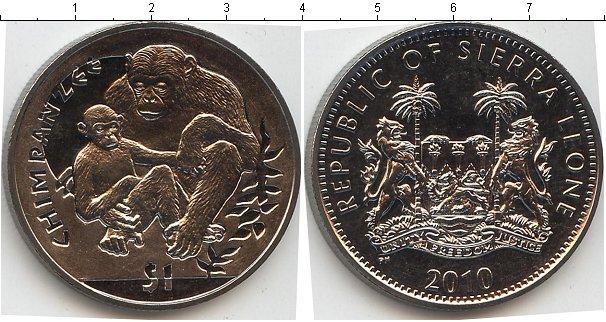 Картинка Мелочь Сьерра-Леоне 1 доллар Медно-никель 2010