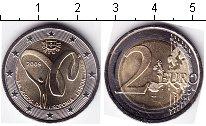 Изображение Мелочь Португалия 2 евро 2009 Биметалл UNC-