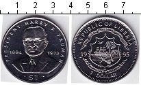 Изображение Мелочь Либерия 1 доллар 1995 Медно-никель UNC