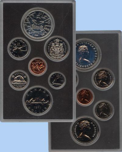 Изображение Подарочные монеты Канада Памятный набор 1978 года 1978  Proof В наборе 7 монет Кан