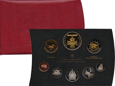 Изображение Подарочные монеты Канада Набор монет 2006 года 2006  Proof Представляем Вам наб