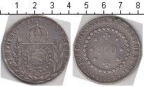 Изображение Монеты Бразилия 960 рейс 1825 Серебро
