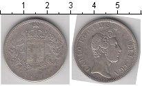 Изображение Монеты Лукка 2 лиры 1837 Серебро  Карл I