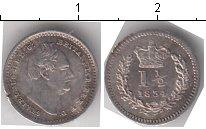 Изображение Монеты Великобритания 1 1/2 пенса 1834 Серебро XF Вильгельм IV