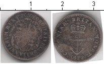 Изображение Монеты Британская Индия 1/16 доллара 1822 Серебро