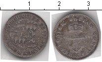 Изображение Монеты Британская Индия 1/16 доллара 1822 Серебро  Георг IV