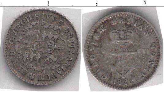 Картинка Монеты Британская Индия 1/16 доллара Серебро 1822