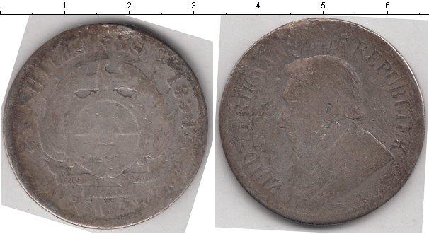 Картинка Монеты ЮАР 2 1/2 шиллинга Серебро 1896