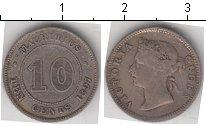 Изображение Монеты Маврикий 10 центов 1897 Серебро XF