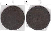 Изображение Монеты Италия 1 сентезимо 1813 Медь  Наполеон I