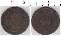 Изображение Монеты Италия 1 сентезимо 1808 Медь