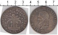 Изображение Монеты Боливия 8 солей 1862 Серебро VF Боливар
