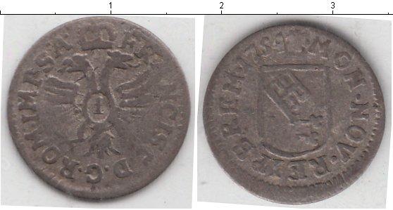 Картинка Монеты Бремен 1 гротен Серебро 1754