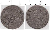 Изображение Монеты Гамбург 4 шиллинга 1725 Серебро  Карл VI