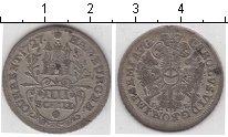 Изображение Монеты Гамбург 4 шиллинга 1727 Серебро  Карл VI