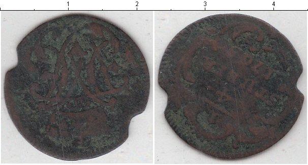 Картинка Монеты Берг 1/4 стюбера Медь 1765