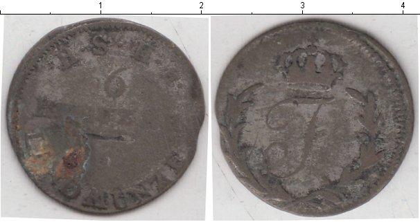 Картинка Монеты Германия 6 крейцеров Серебро 0