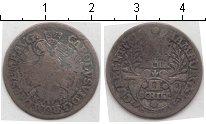 Изображение Монеты Гамбург 2 шиллинга 1726 Серебро  Карл VI