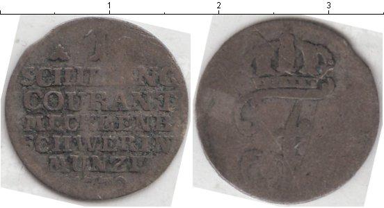 Картинка Монеты Германия 1 шиллинг  1772
