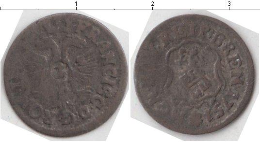 Картинка Монеты Бремен 1 гротен Серебро 1751