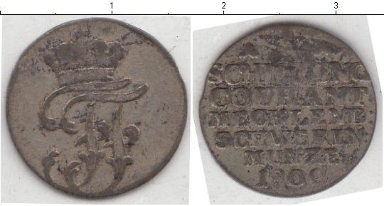 Картинка Монеты Мекленбург-Шверин 1 шиллинг Серебро 1800