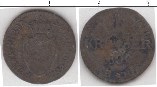 Картинка Монеты Липпе-Детмольд 1 крейцер Медь 1809