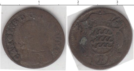 Картинка Монеты Вюртемберг 1 крейцер Серебро 1769