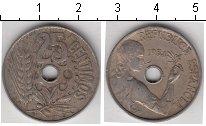 Изображение Мелочь Испания 25 сентим 1934 Медно-никель VF <br>&nbsp;
