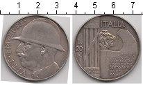 Изображение Монеты Италия 20 лир 1928 Серебро XF 10-я годовщина оконч