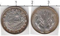 Изображение Мелочь Мальта 1 фунт 1979 Серебро XF