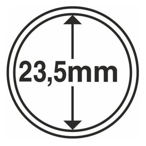 Картинка Аксессуары для монет Капсулы для монет Капсулы для монет LINDNER 23 мм  0