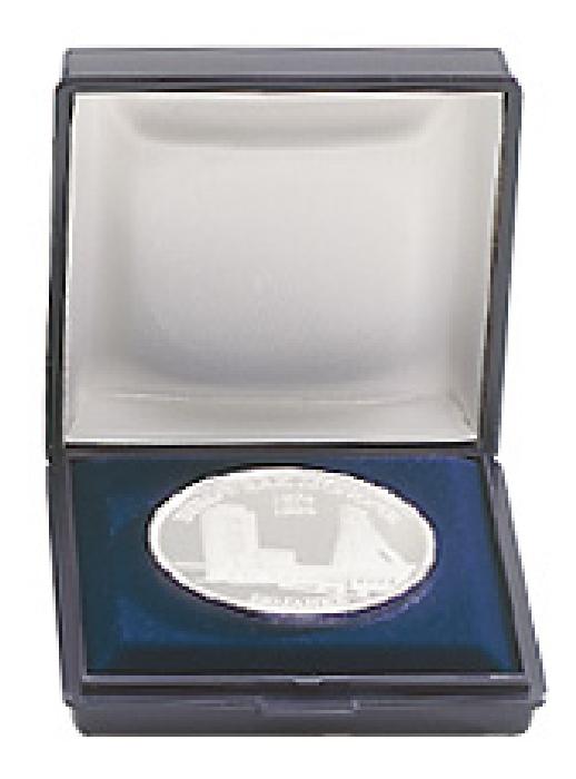 Картинка Аксессуары для монет Пластик Малый футляр для монет (2006)  0