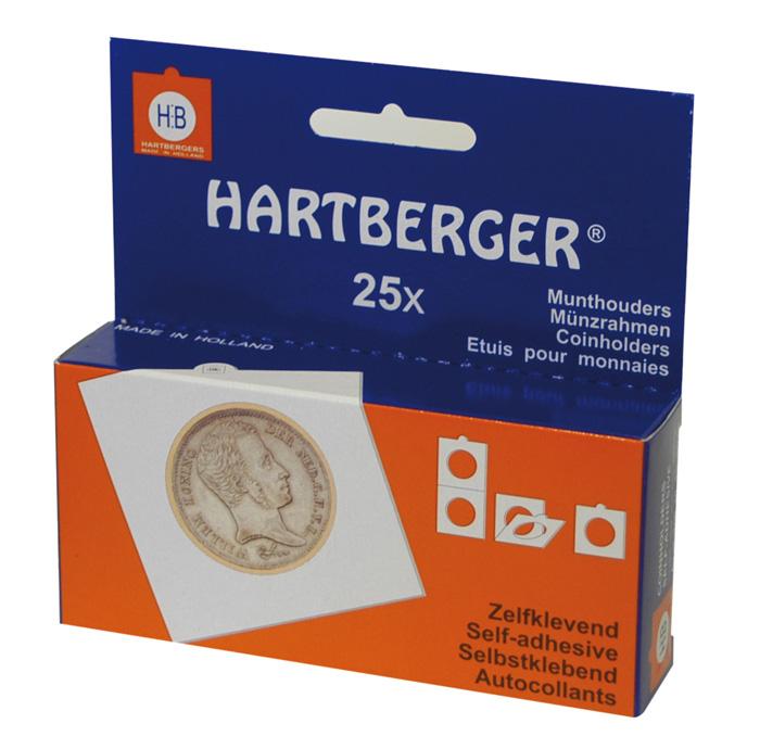 Картинка Аксессуары для монет Самоклеющиеся Рамки для монет HARTBERGER® 43 mm (8321043)  0