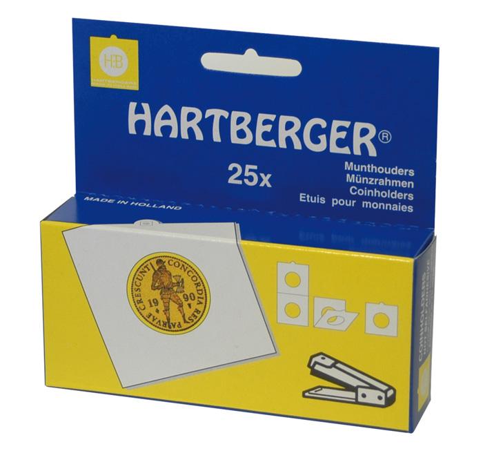 Картинка Аксессуары для монет На степлер Рамки для монет HARTBERGER® 53 mm (8331053)  0